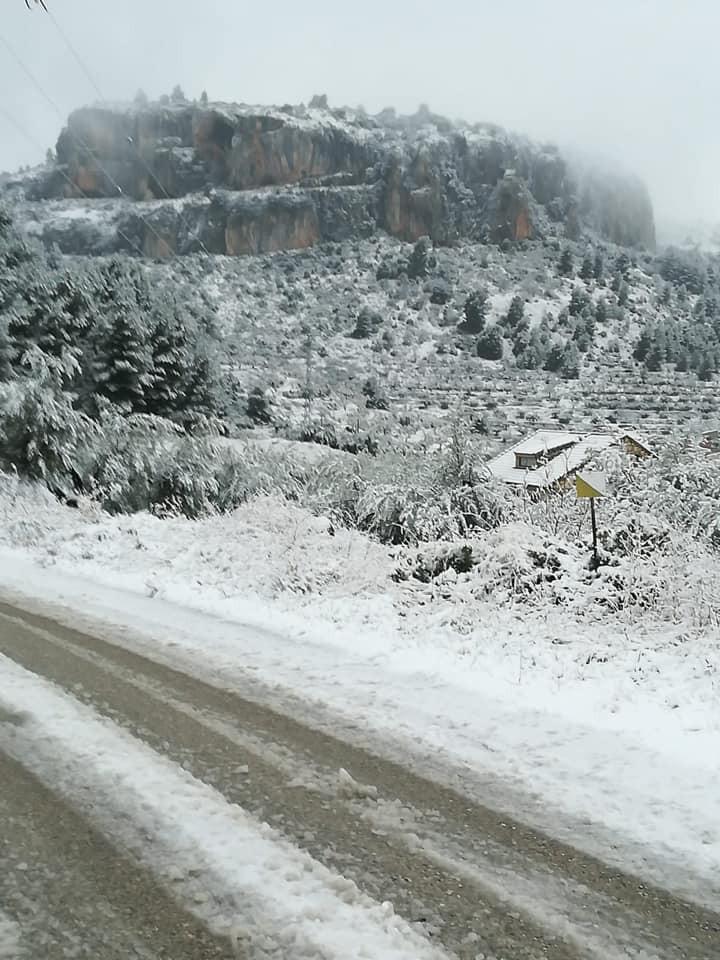 Nieve en Benizar, Moratalla