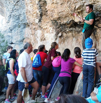 Visitas guiadas al arte rupestre de Moratalla