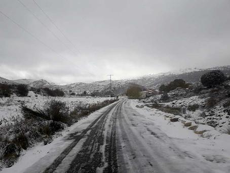 ¿Nevará este fin de semana en la Comarca del Noroeste de la Región de Murcia?