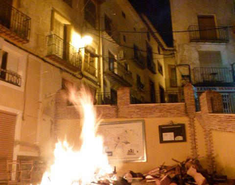 Los castillos de la Purísima en Moratalla - Noche del 7 al 8 de diciembre