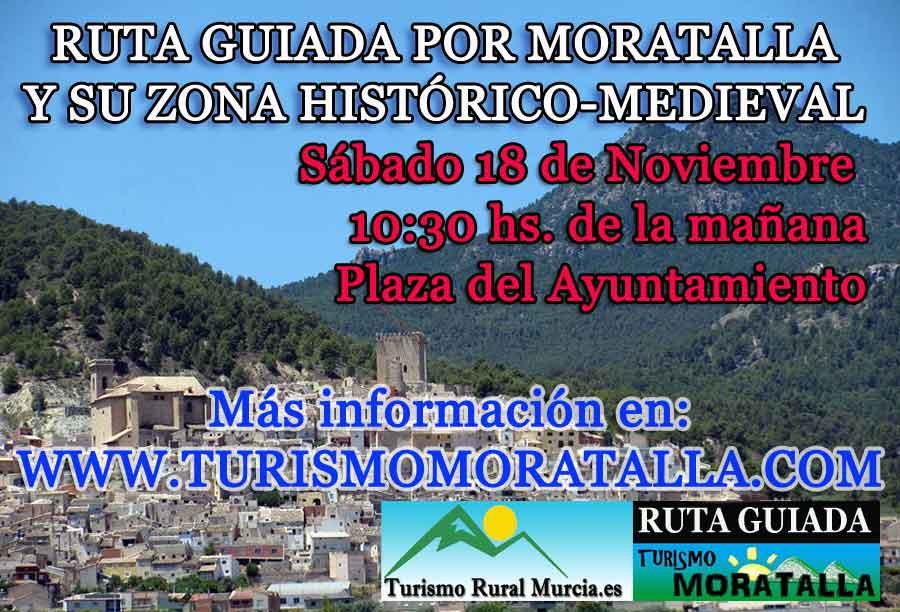 Visita guiada Moratalla Murcia turismo