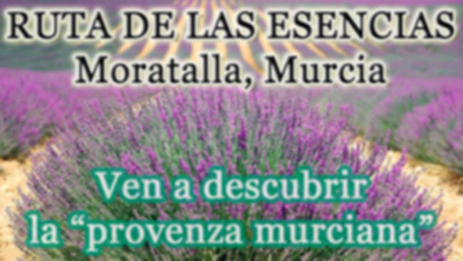Ruta de las esencias en Moratalla, Murci