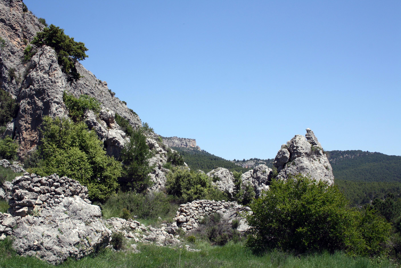 Valle del río Alhárabe en Moratalla