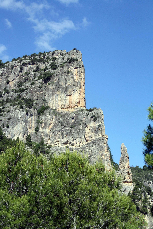 Pico del fraile en Hondares