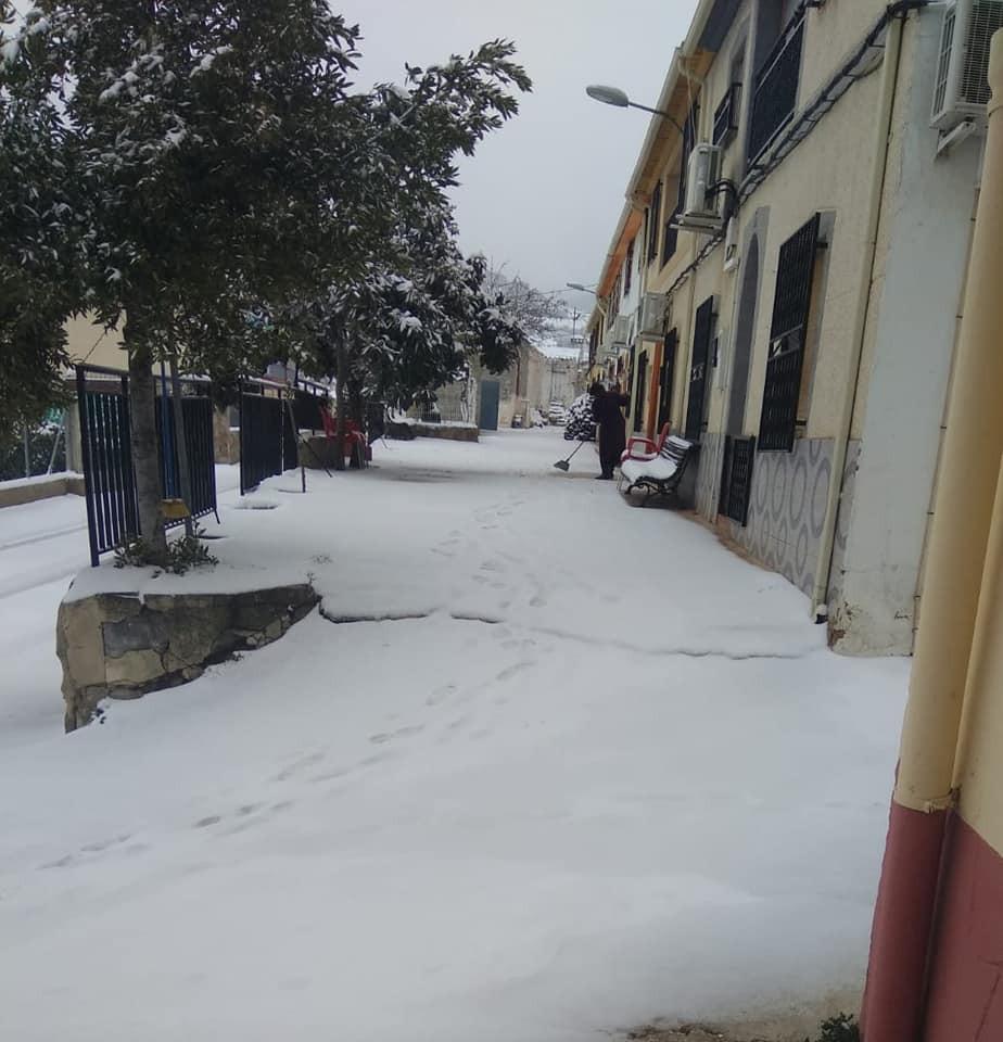 Nieve en Casa Requena, Moratalla