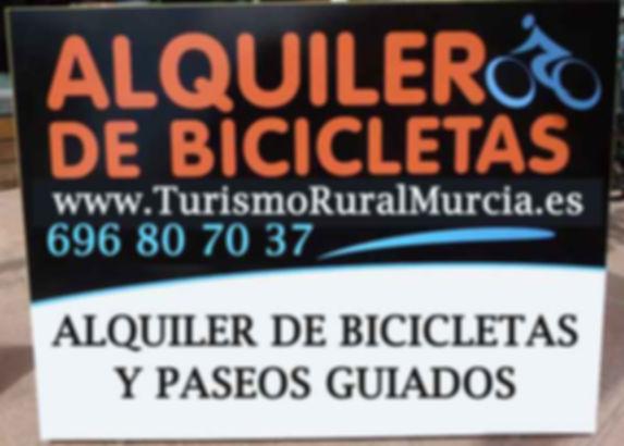 alquiler bicicleta moratalla, alquiler bicicletas, alquiler bicis