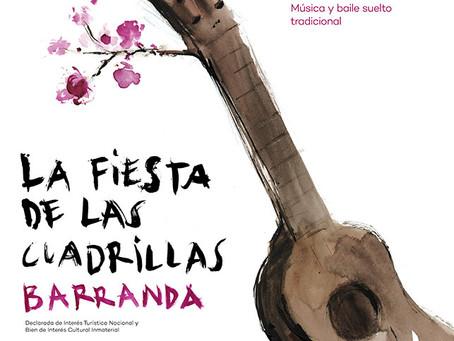 Programa de actividades de la Fiesta de las Cuadrillas en Barranda 2020