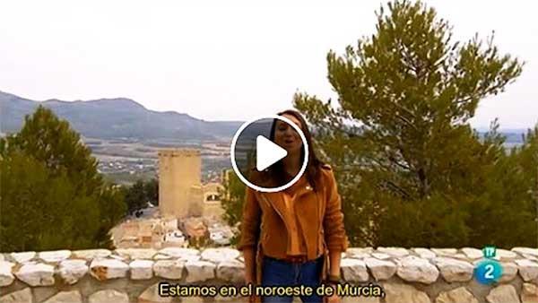Las Rutas de Verónica Murcia Noroeste,TVE Murcia Noroeste, Noroeste de Murcia