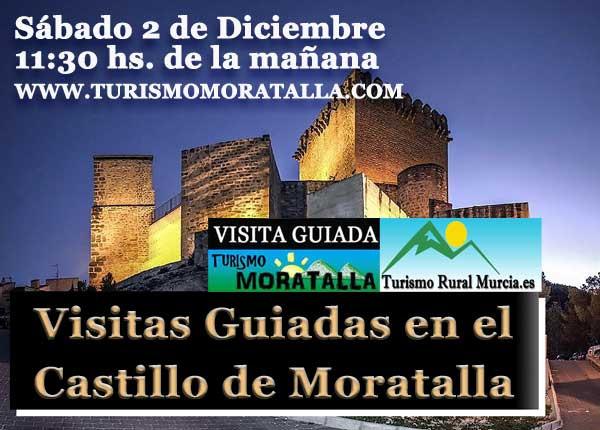 visita guiada castillo Moratalla Murcia