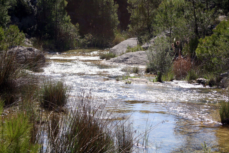 Río Alhárabe en Moratalla Murcia