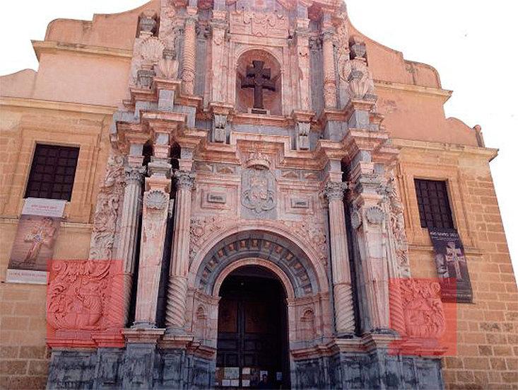 dragones basílica santuario Vera Cruz de