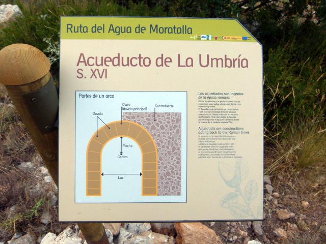 Acueducto medieval en Moratalla