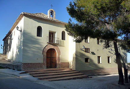 Ermita Casa de Cristo en Moratalla