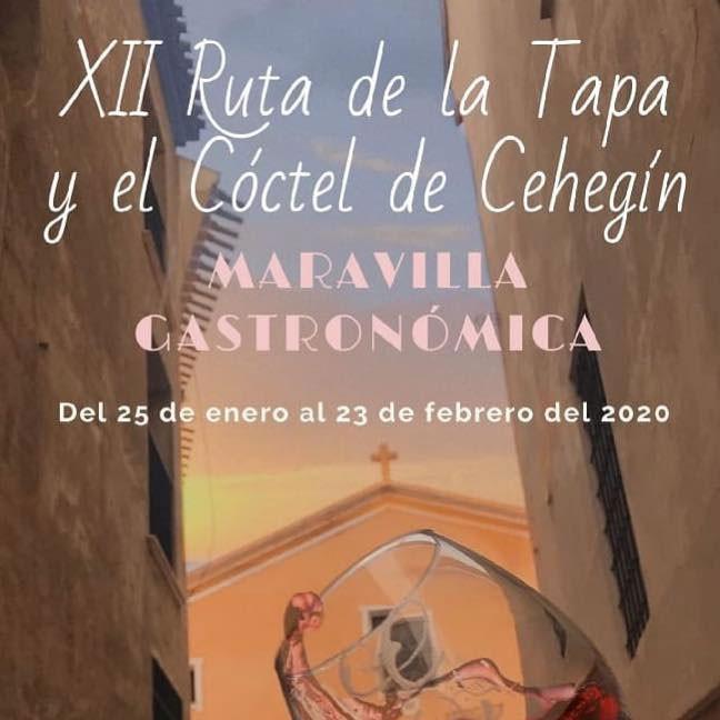Cehegín, turismo, ruta, tapa, 2020, cóctel, gastonomía, Murcia, Cehegín