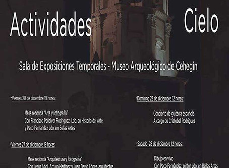 Programa de actividades en el museo arqueológico de Cehegín