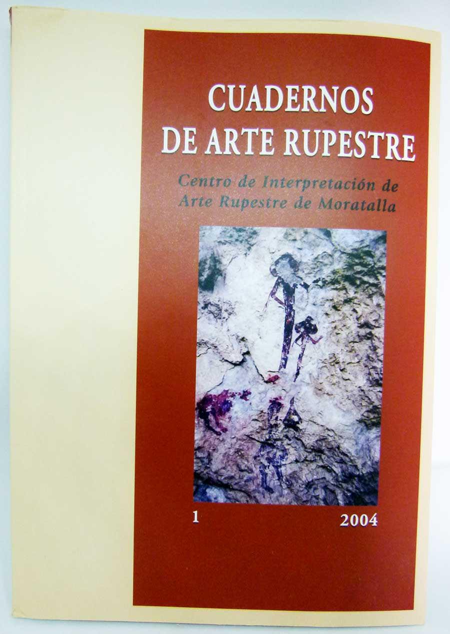 20€-Libro Cuadernos de Arte Rupestre I