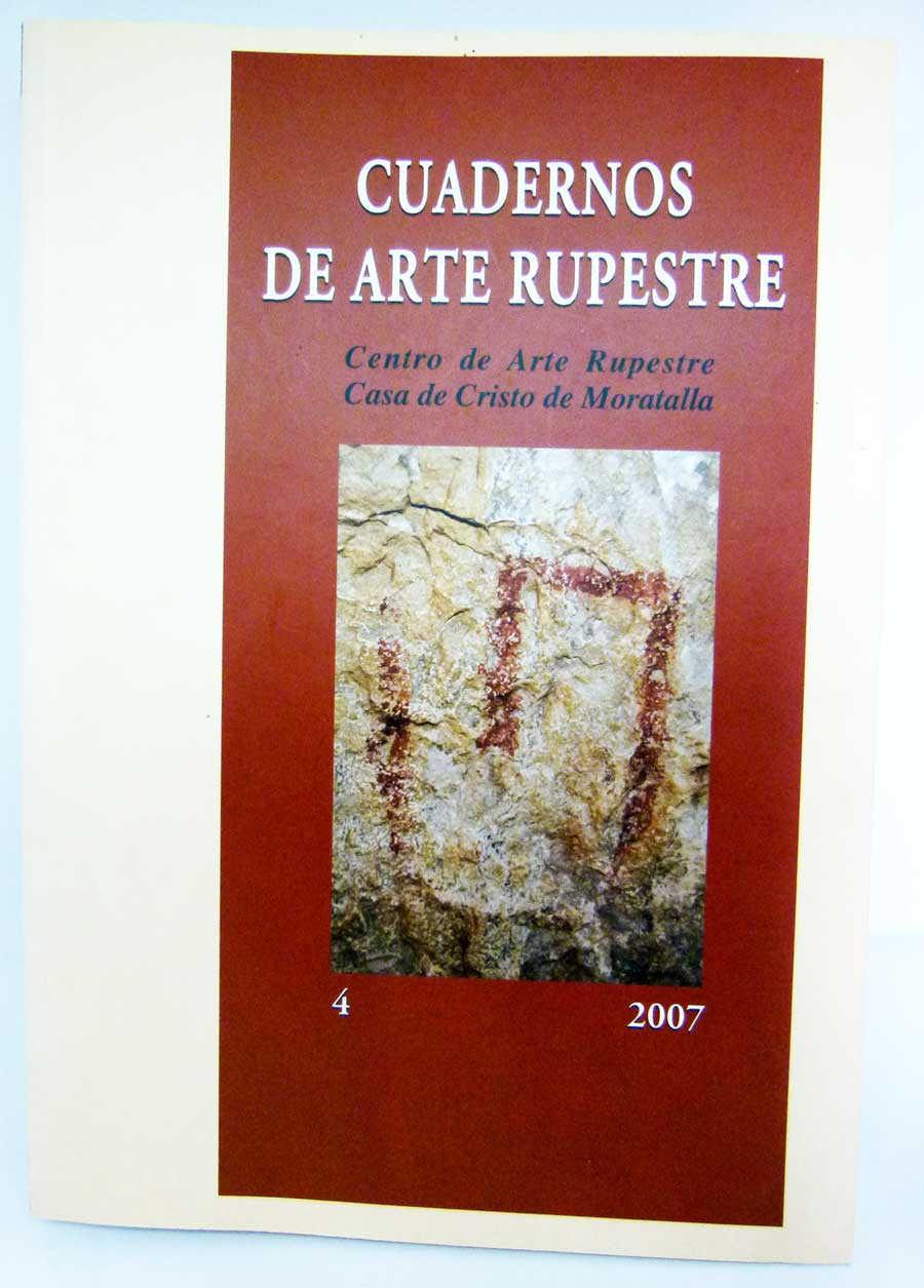 30€-Libro Cuadernos de Arte Rupestre IV