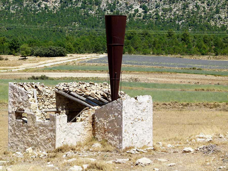 Cañón de granizo en Moratalla, Murcia