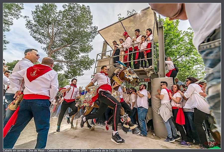 Caballos del vino, Caravaca de la Cruz, Caravaca, Murcia