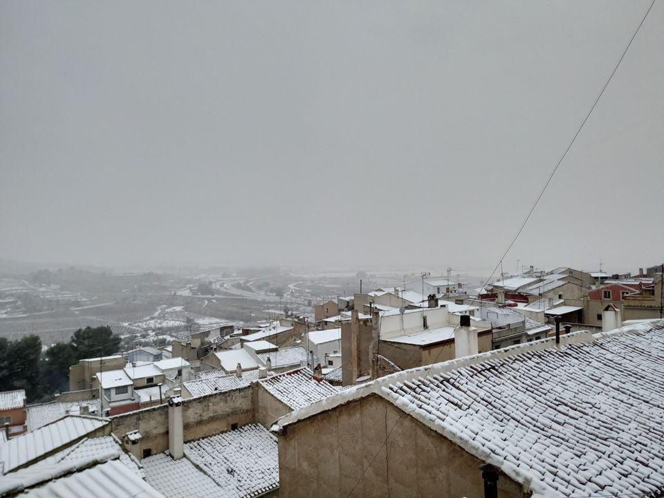 Nieve en Bullas