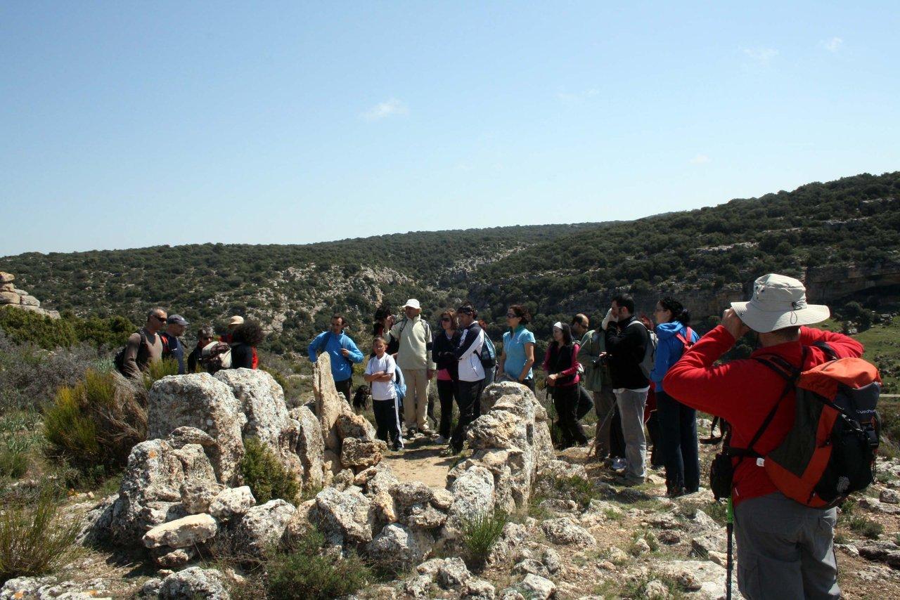 Dolmen de Bajil en Moratalla