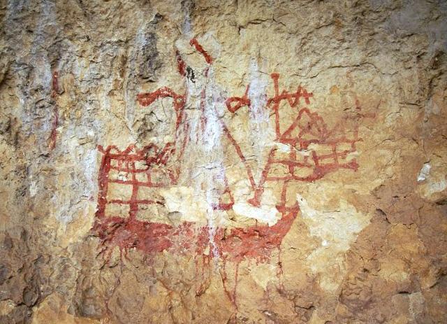 Arte Rupestre medieval en Moratalla