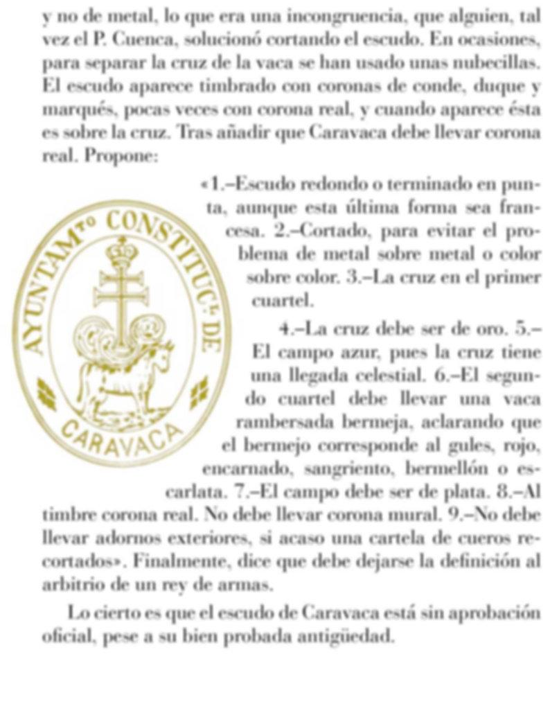 Escudo de Caravaca de la Cruz