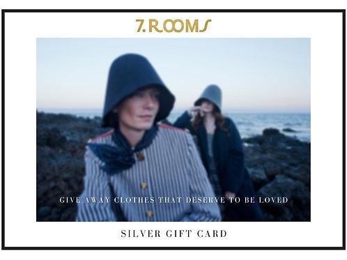 Tarjeta regalo Plata