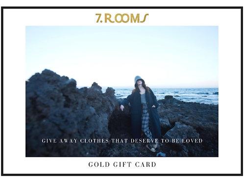 Tarjeta regalo Oro