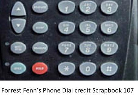 Fenn's Phone Puzzle