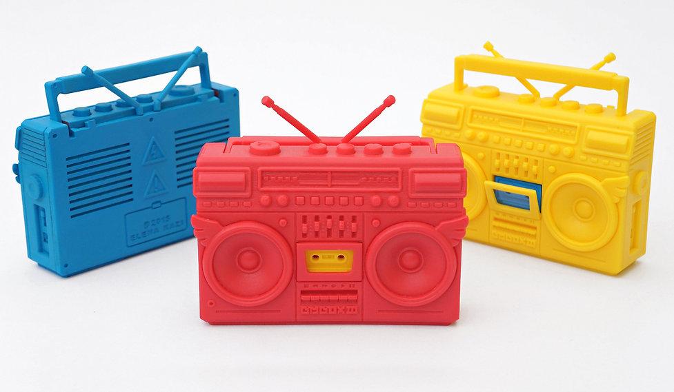 BMBOX III, BMBOXIII, BMBOX, boombox toy, elena kazi toy, hip hop toy