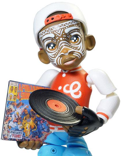 Boomboy, b-boy toy, 80's toy, oldschool toy, elena kazi, hip hop figure