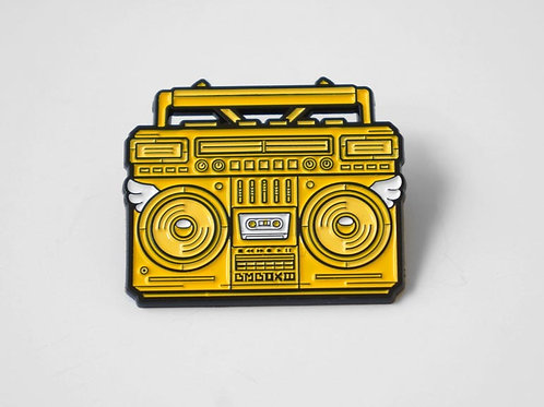 BMBOX Enamel Pin YELLOW
