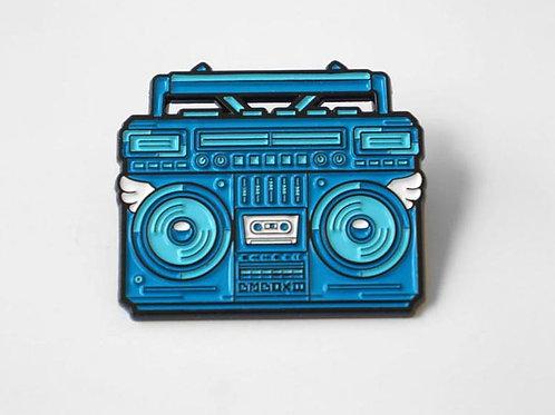BMBOX Enamel Pin BLUE