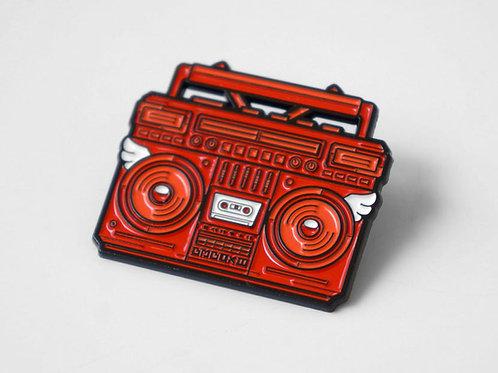 BMBOX Enamel Pin RED