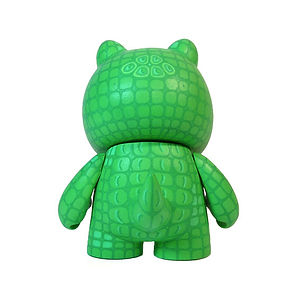 Dile, Kracka, crocodile toy, kidrobot custom