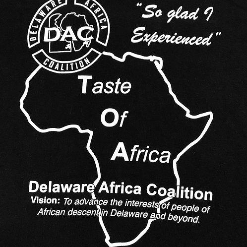 Taste of Africa T-Shirt, B&W