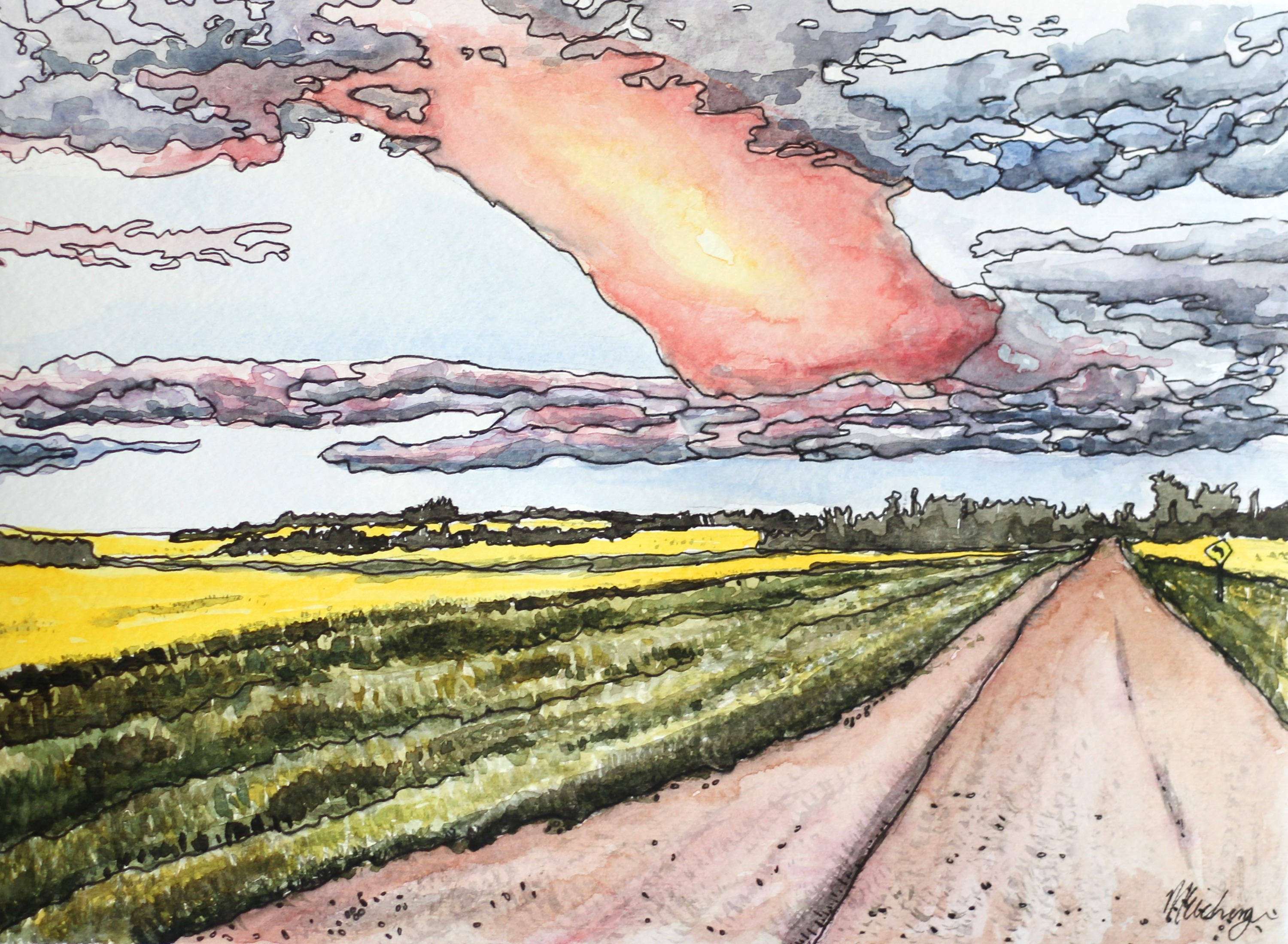 Road to the Sky - Melissa Eichinger