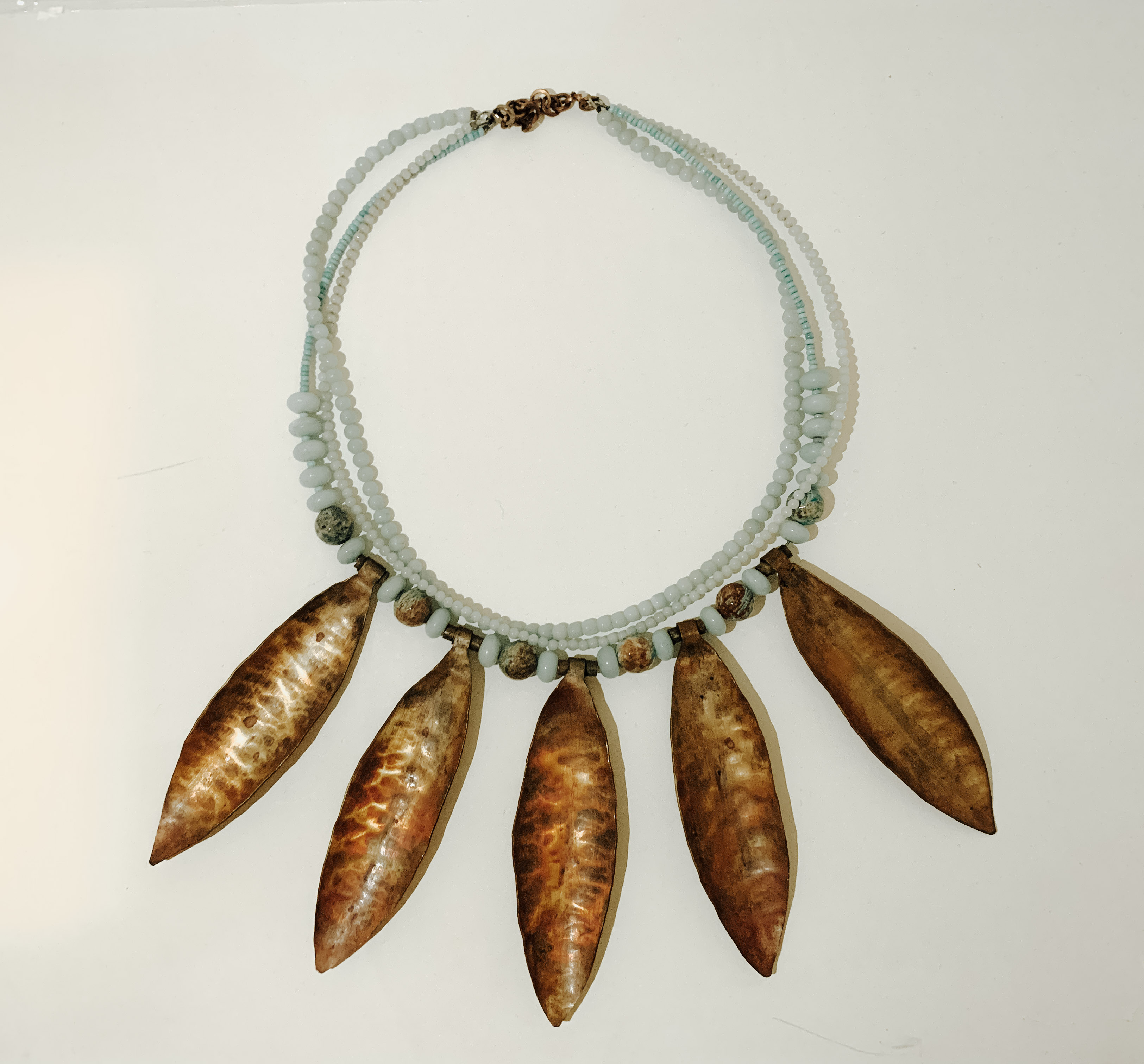 Falling Leaves Necklace - Yvonne Musey Johnson