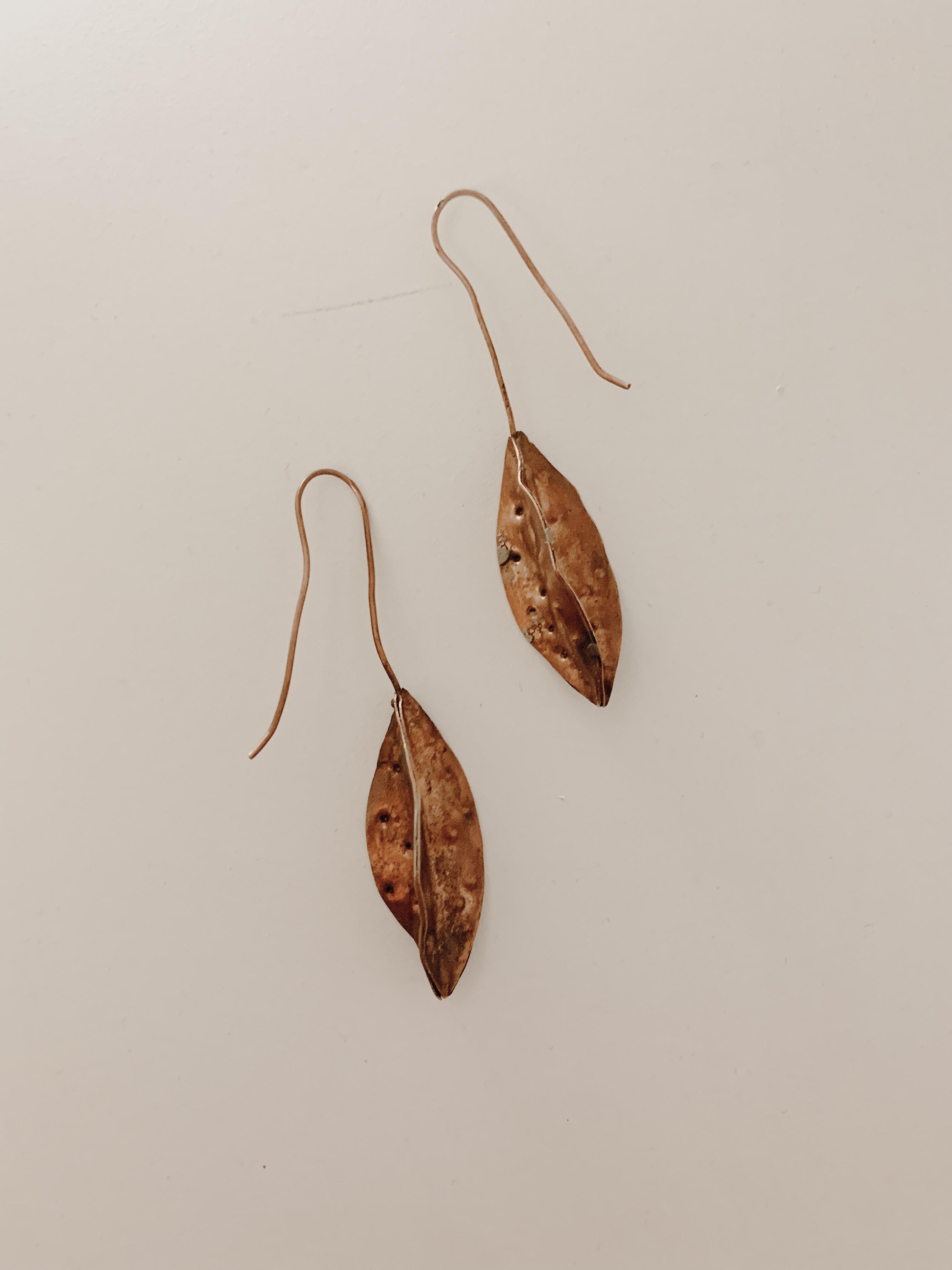Seed Pod Earrings - Yvonne Musey Johnson