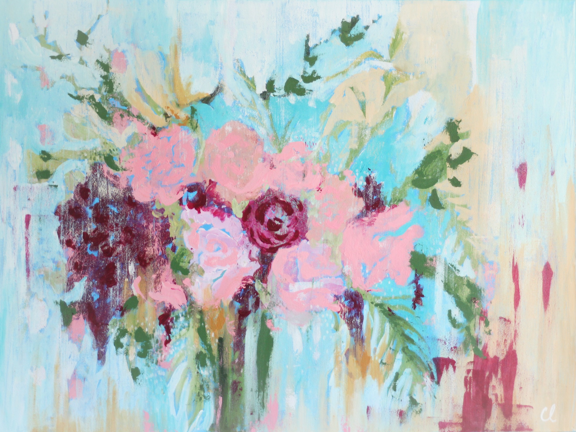 Flower Composition I - Christine Loewen