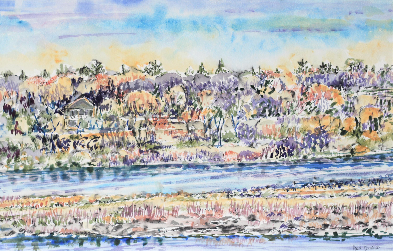 Saskatoon Riverbank - Ann Donald
