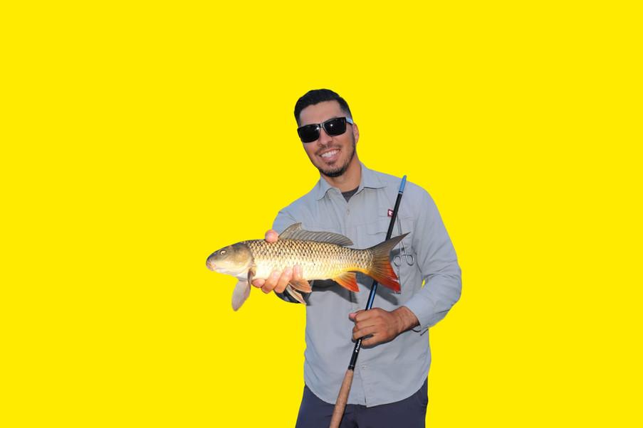 Carp fly fishing
