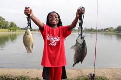 tilapia fishing kids fishing
