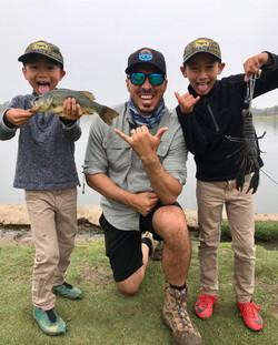 fun bass fishing