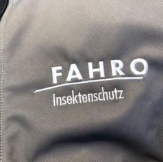 Stickerei auf Softshell-Jacke