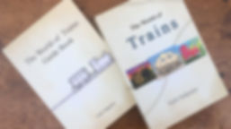 Trains-Guidebook & Box of the two decks.