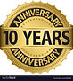 10-years-anniversary-golden-label-with-r
