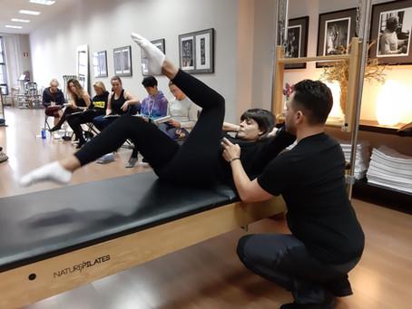 Comienzo del Curso de Formación de Profesores de Pilates en Madrid en Octubre de 2019