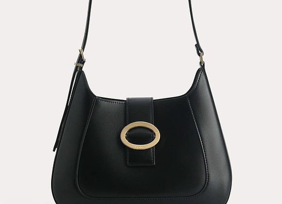 PEDRO TOP HANDLE BAG WITH OVAL BUCKET